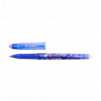 Pix albastru Ecada cu gel si radiera Disparel 3
