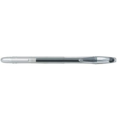 Pix cu gel Penac FX-3, 0.7mm, con metalic, corp transparent - scriere neagra
