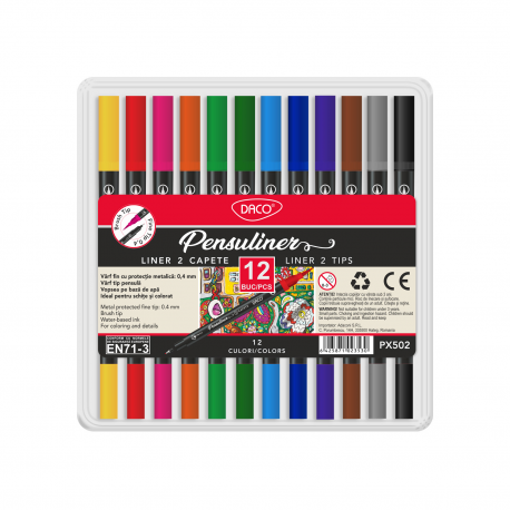 Pix DACO Pensuliner set 12 PX502