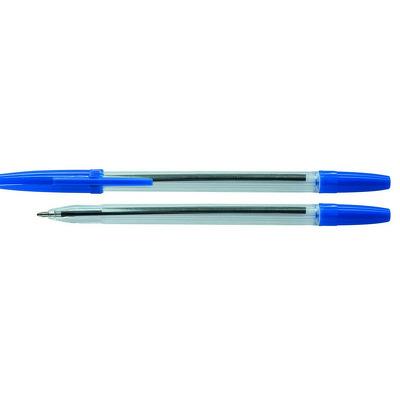 Pix transparent de unica folosinta , varf 1.0mm, Office Products - albastru