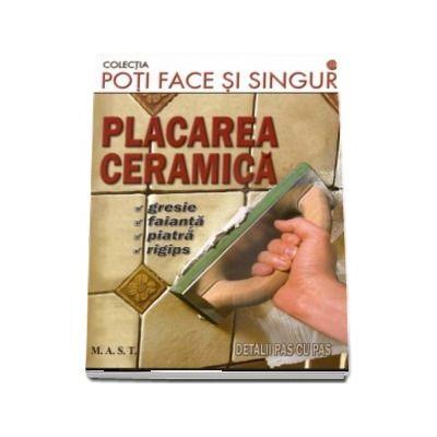 Placarea ceramica. Gresie, faianta, piatra, rigips. Detalii pas cu pas (Colectia poti face si singur)