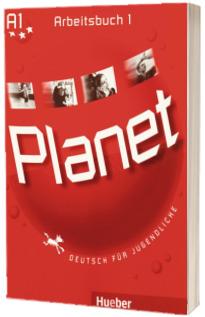 Planet 1, caiet de germana pentru clasa a 5-a, Arbeitsbuch (A1) - Deutsch fur Jugendliche