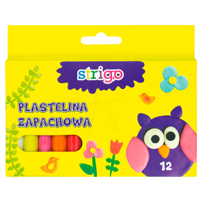 Plastilina Strigo 12 culori