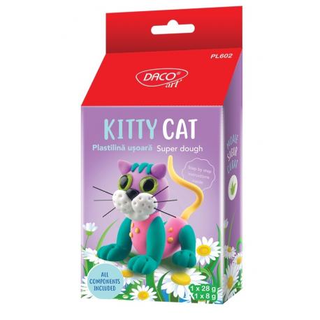 Plastilina usoara Kitty Cat PL602 DACO
