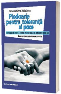 Pledoarie pentru toleranta si pace