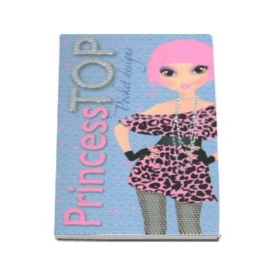 Pocket designs - Princess TOP  (bleu)