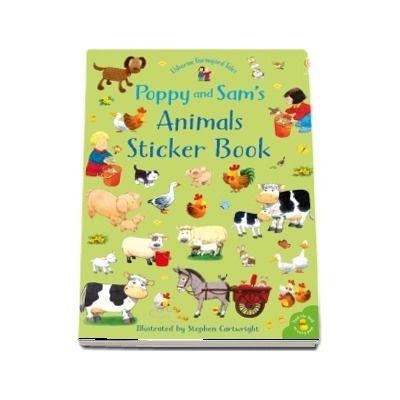 Poppy and Sams animals sticker book
