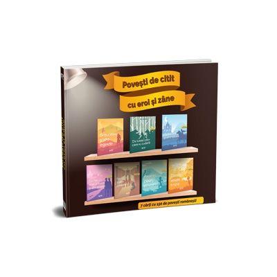 Povesti de citit cu eroi si zane. 7 carti cu 150 de povesti romanesti