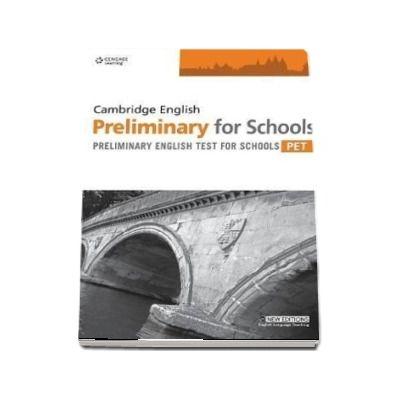 Practice Tests for Cambridge PET for Schools. Teachers Book