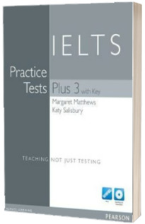 Practice Tests Plus IELTS 3 with Key and Multi-ROM/Audio CD Pack