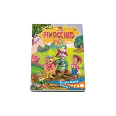 Pinocchio. Editie ilustrata - Invatam sa citim la grupa 0