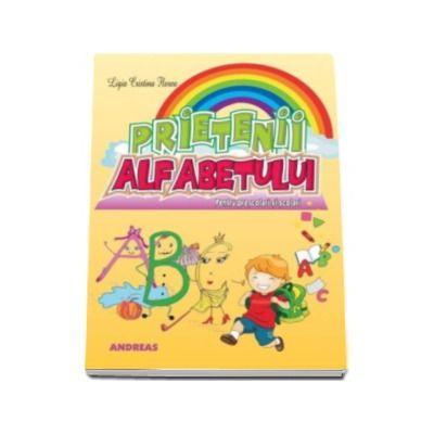 Prietenii alfabetului - Carte ilustrata cu poezii pentru cei mici