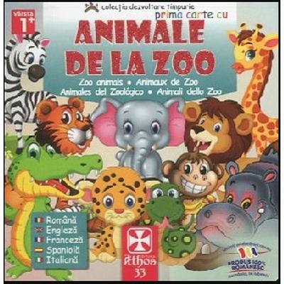 Prima carte cu Animale de la ZOO