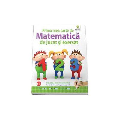 Prima mea carte de matematica de jucat si exersat (Contine tablita si carioca)