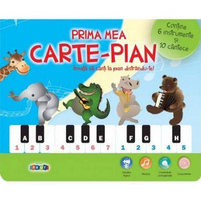 Prima mea carte-pian - Invata sa canti la pian distrandu-te!