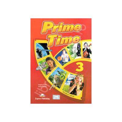 Prime Time 3, B1+ Students Book. Manual pentru clasa a VII-a