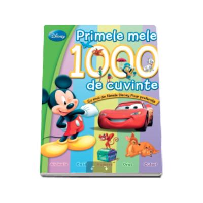 Primele mele 1000 de cuvinte, cu eroii din filmele Disney preferate