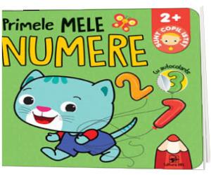 Primele mele numere. Sunt copil istet. Cu autocolante