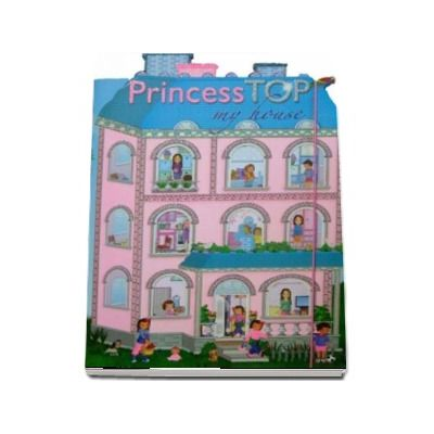 Princess Top, cu stickerele - My House Blue -