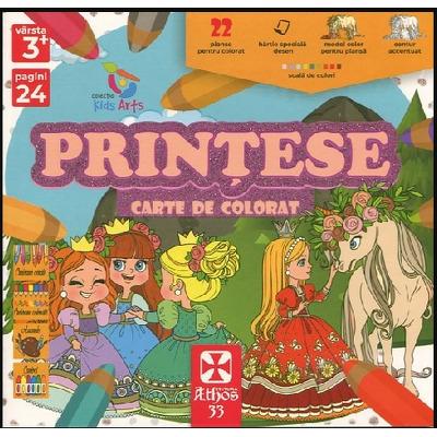 Printese, carte de colorat