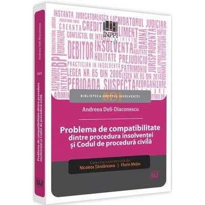 Problema de compatibilitate dintre procedura insolventei si Codul de procedura civila