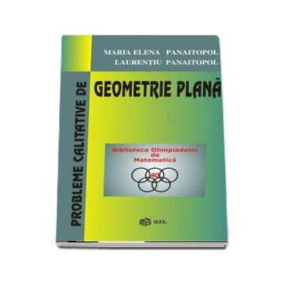 Probleme calitative de Geometrie Plana - Biblioteca Olimpiadelor de Matematica (Editie Paperback)