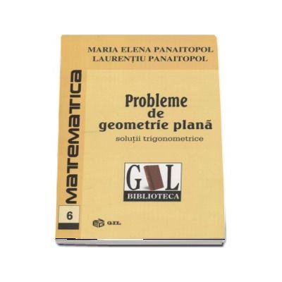 Probleme de geometrie plana. Solutii Trigonometrice - Maria Elena Panaitopol