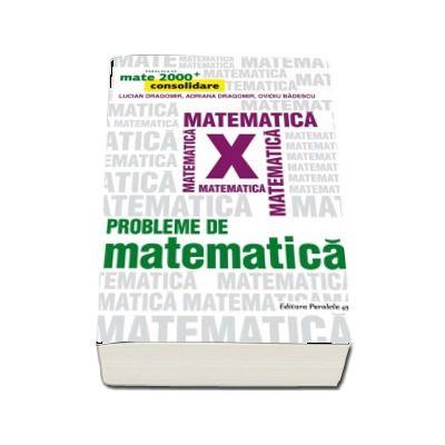 Probleme de matematica pentru clasa a X-a. Consolidare (Colectia, mate 2000+)