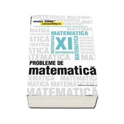 Probleme de matematica pentru clasa a XI-a - Consolidare (Editia a IV-a)