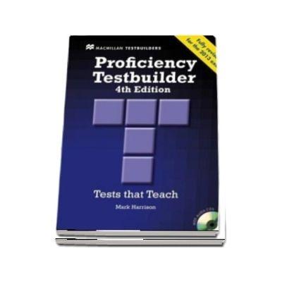 Proficiency Testbuilder. Students Book and key Pack, Editia 2013
