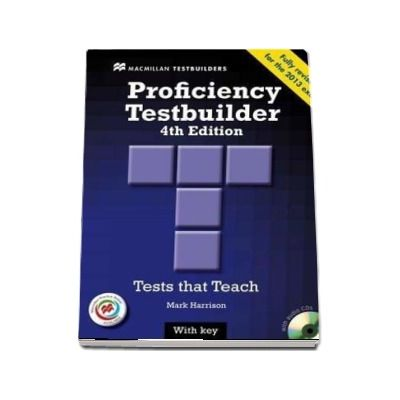Proficiency Testbuilder. Students Book without key and MPO Pack, Editia 2013