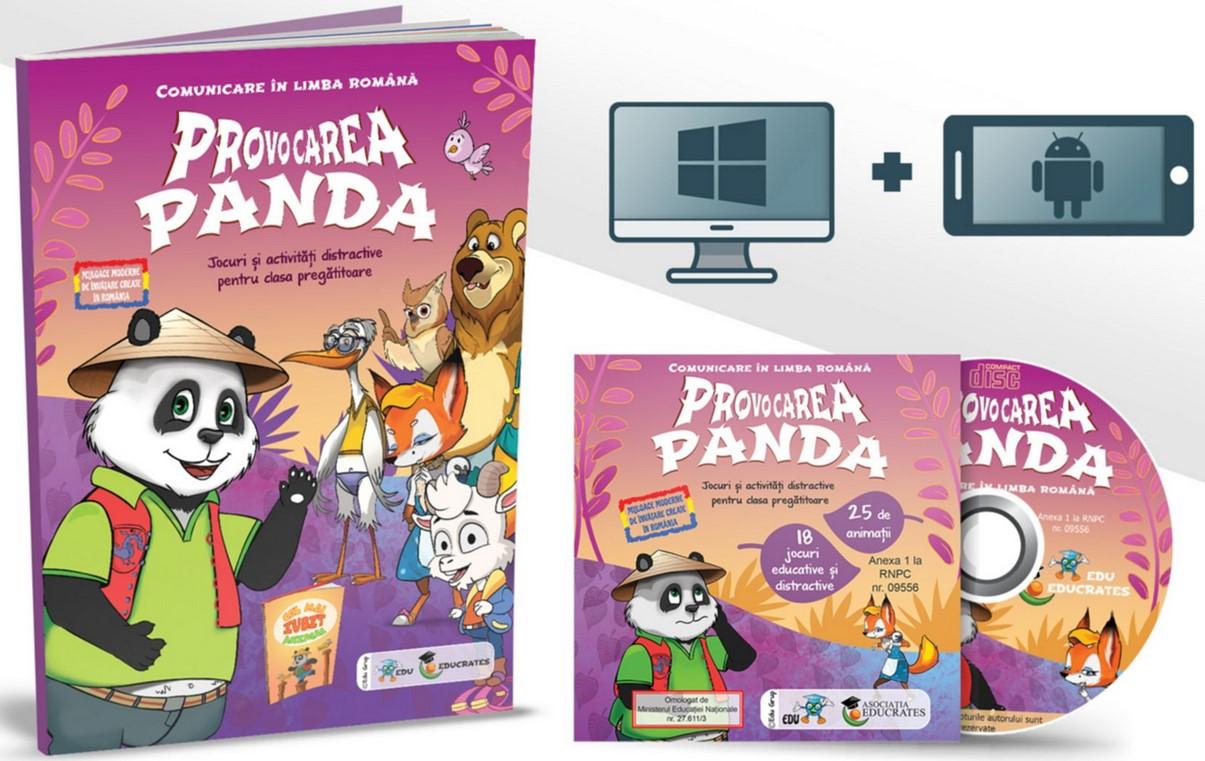 Provocarea Panda - Comunicare in limba romana. Jocuri si activitati distractive pentru clasa pregatitoare