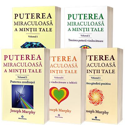 Serie de autor Dr. Joseph Murphy, compusa din 5 carti