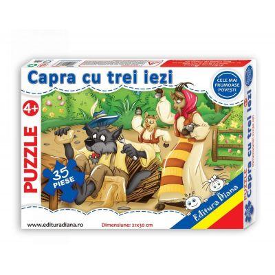 Puzzle, Capra cu trei iezi. 35 de piese