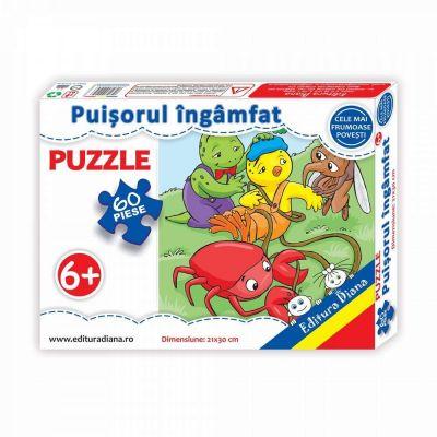 Puzzle, Puisorul ingamfat. 60 de piese