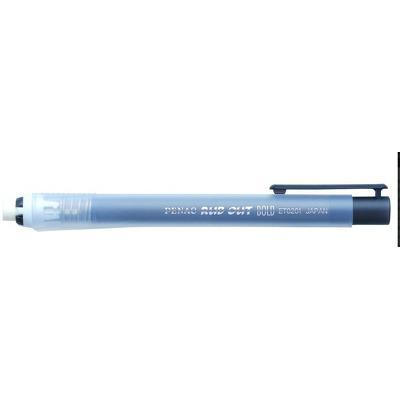 Radiera mecanica Penac Rub Out Bold, cilindrica, 100% cauciuc - corp negru