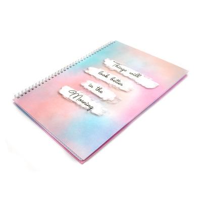 Registru cu spira A4, coperta cartonata, 140 file Matematica