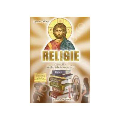 Religie clasa a IX-a. Auxiliar didactic pentru elevi