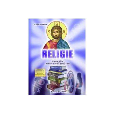Religie clasa a XII-a. Auxiliar didactic pentru elevi