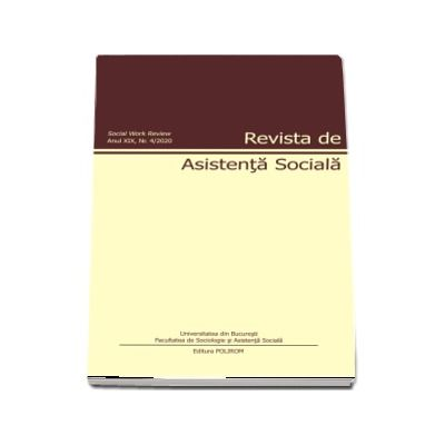 Revista de asistenta sociala. Nr. 4/2020