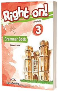 Right On! 3. Grammar Book Students with Digibooks App