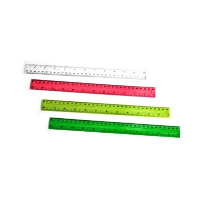 Rigla plastic, 30 cm, roz, Arhi Design