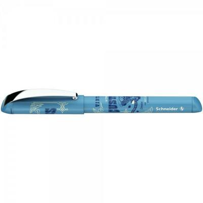 Roller cu cartus Schneider Inx Sportive - bleu cu design