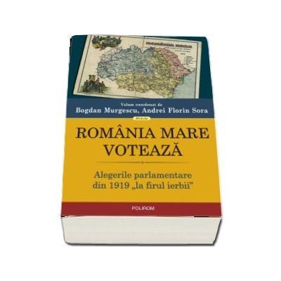 """Romania Mare voteaza. Alegerile parlamentare din 1919 ,,la firul ierbii\"""""""