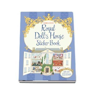 Royal dolls house sticker book