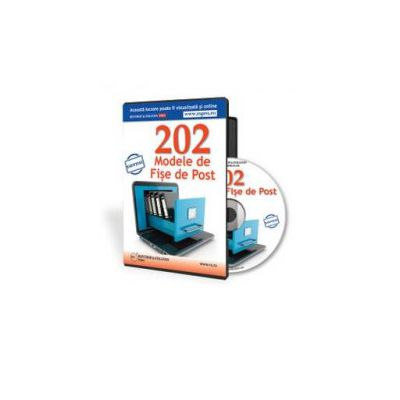 202 Modele de fise de post - Format CD