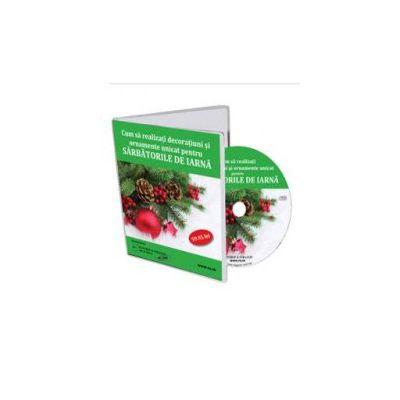 Cum sa realizezi decoratiuni si ornamente unicat pentru Sarbatorile de iarna - Format CD