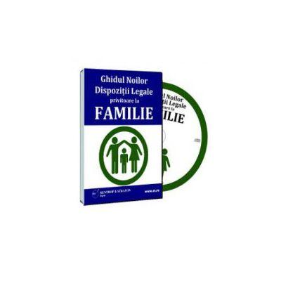 Ghidul Noilor Prevederi Legale privitoare la Familie - Format CD (Mihaela Trusca)