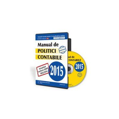 Manual de politici contabile 2015 - Format CD