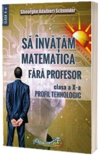 Sa invatam matematica fara profesor. Clasa a X-a profil tehnologic